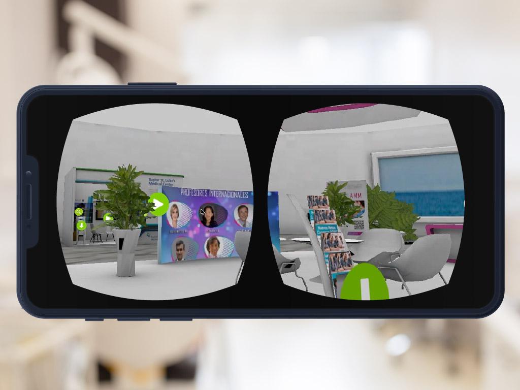 Congreso Virtual realizado en Unity 3D