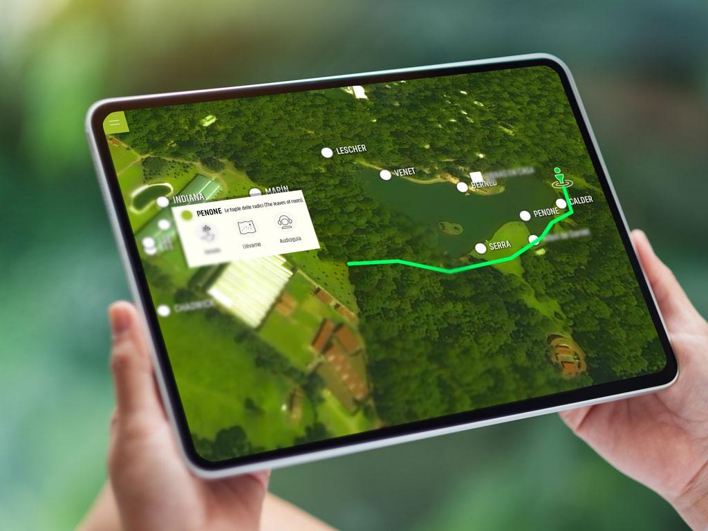 App utilizando GPS y sensores bluetooth