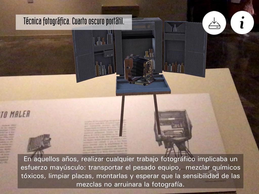 Apps de Realidad aumentada para museos o activaciones de marca